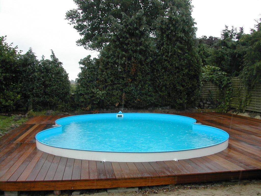 Pool Dekoration mit gut design für ihr wohnideen