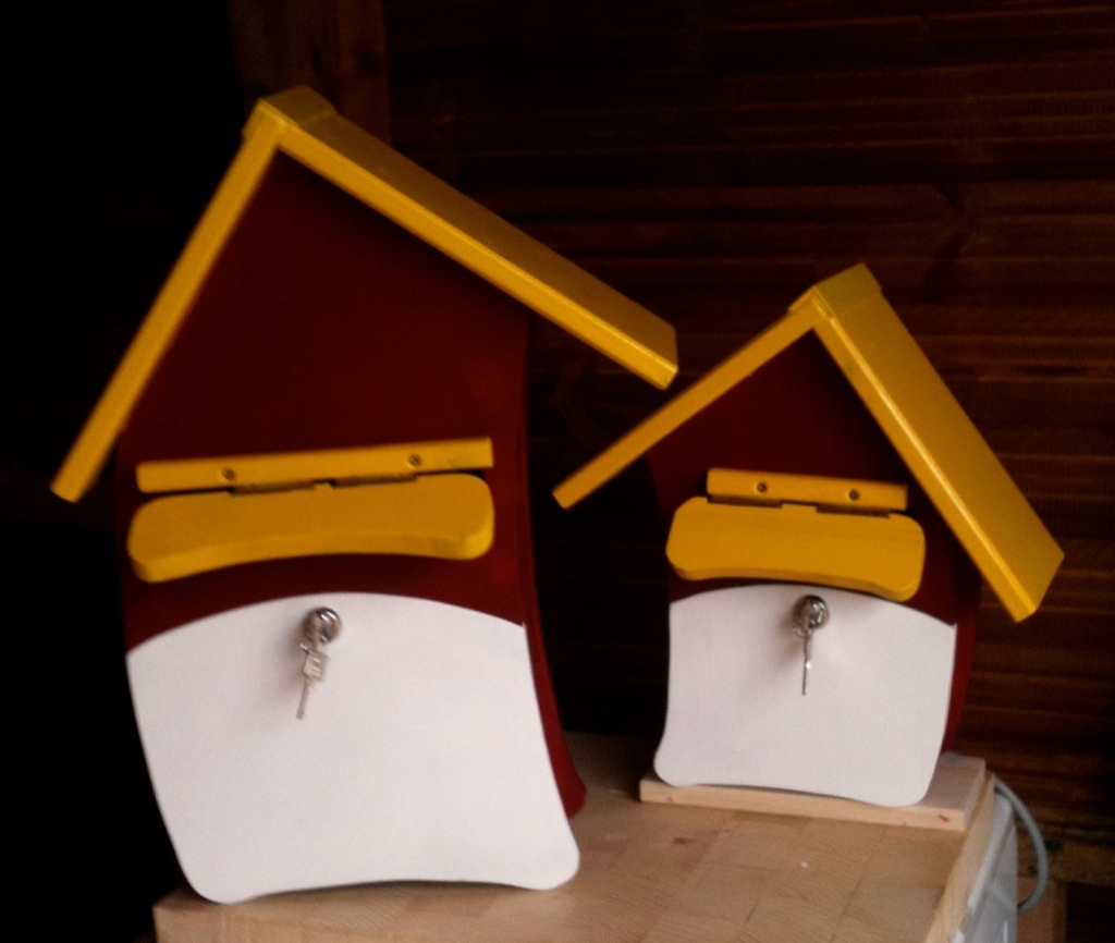 briefkasten aus holz bauanleitung. Black Bedroom Furniture Sets. Home Design Ideas
